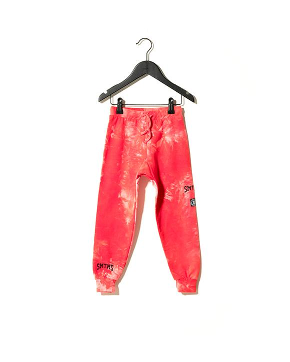 Laguna Sweatpants - red tie-dye
