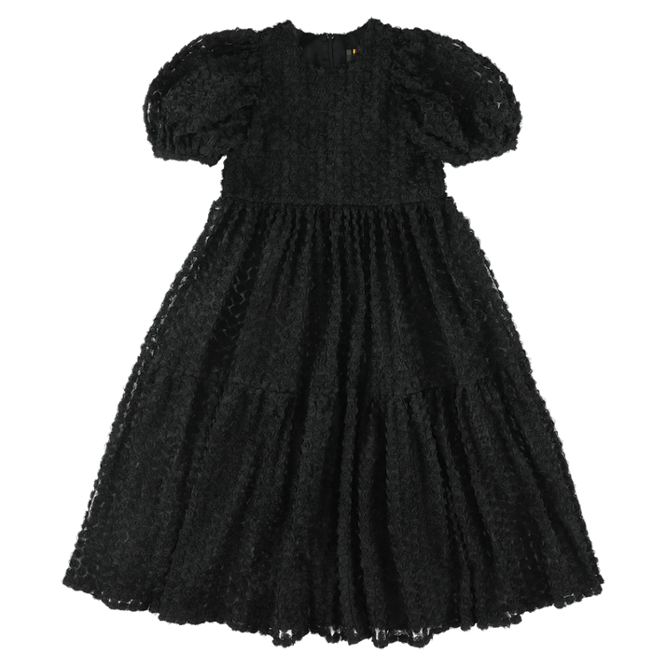 Langes Kleid Rose Black