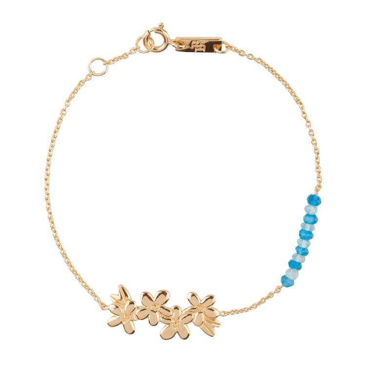 Make unforgettable Memories - Armband Mutter - gold