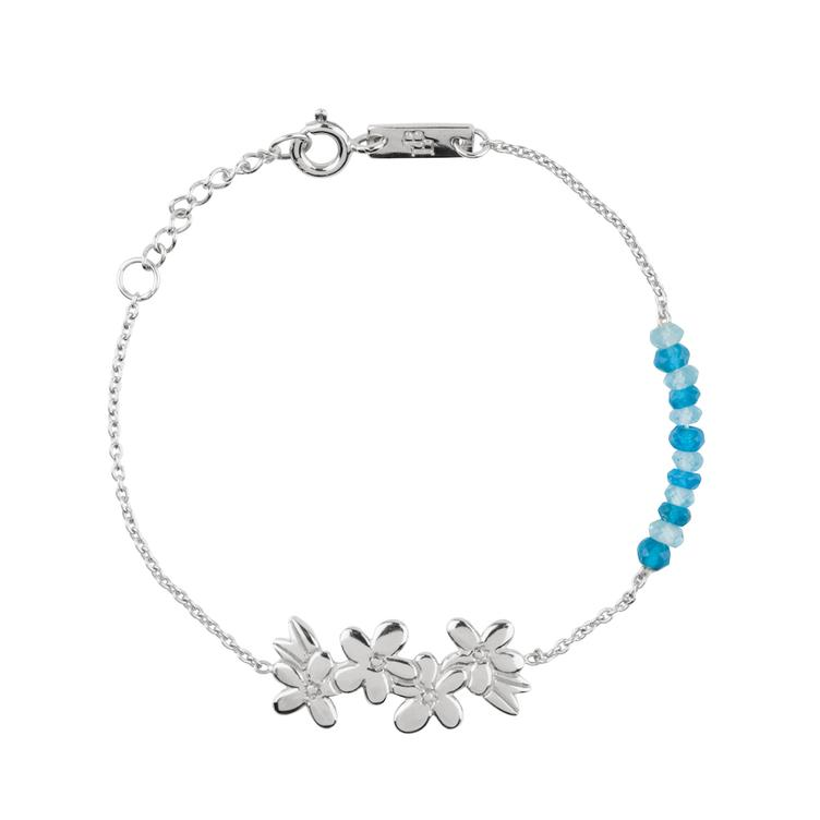 Make unforgettable Memories - Armband Tochter - silber