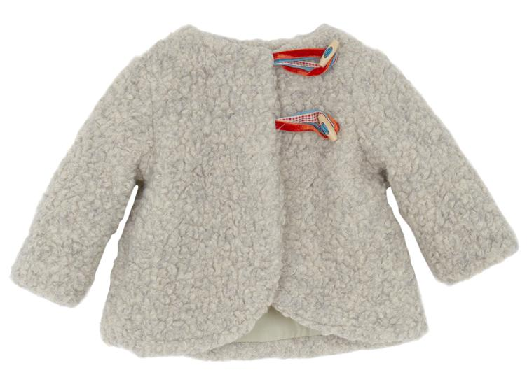Mantel, Folk Baby Coat, sheep