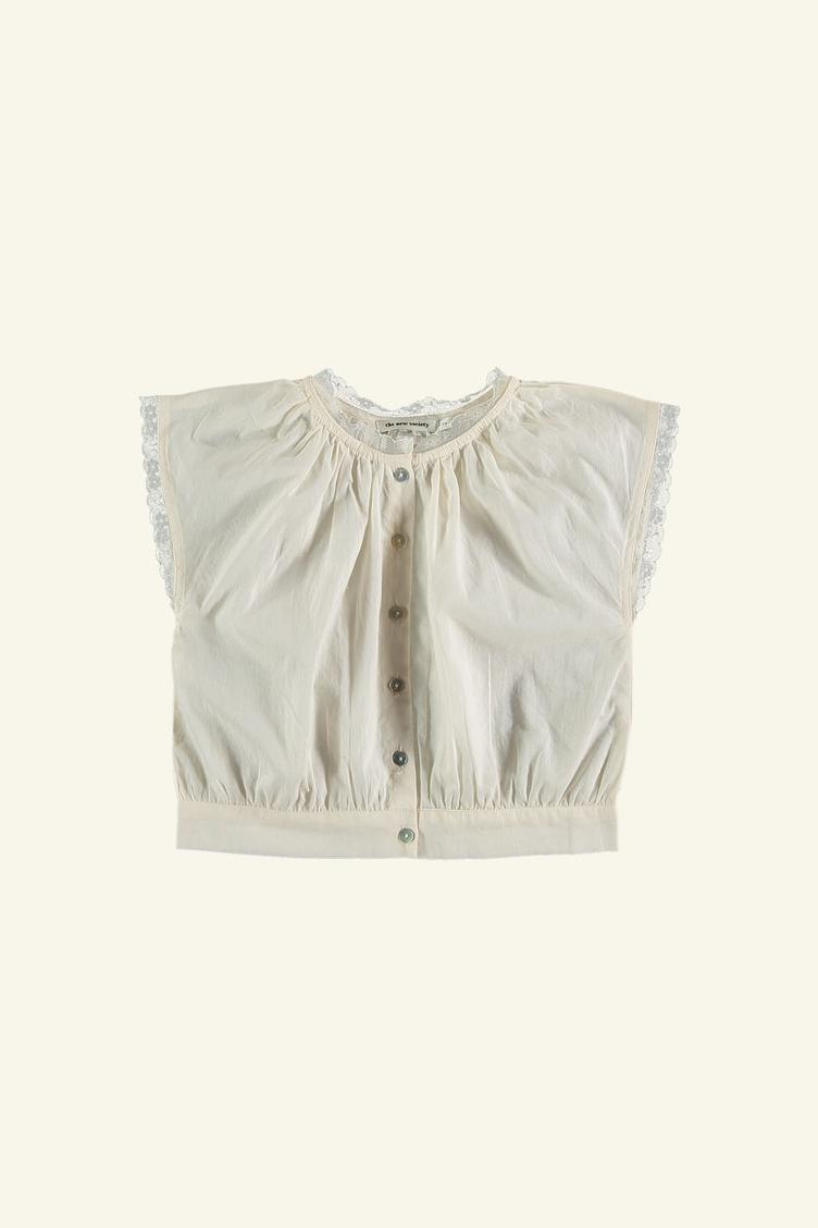 Marguerithe Bluse - off-white