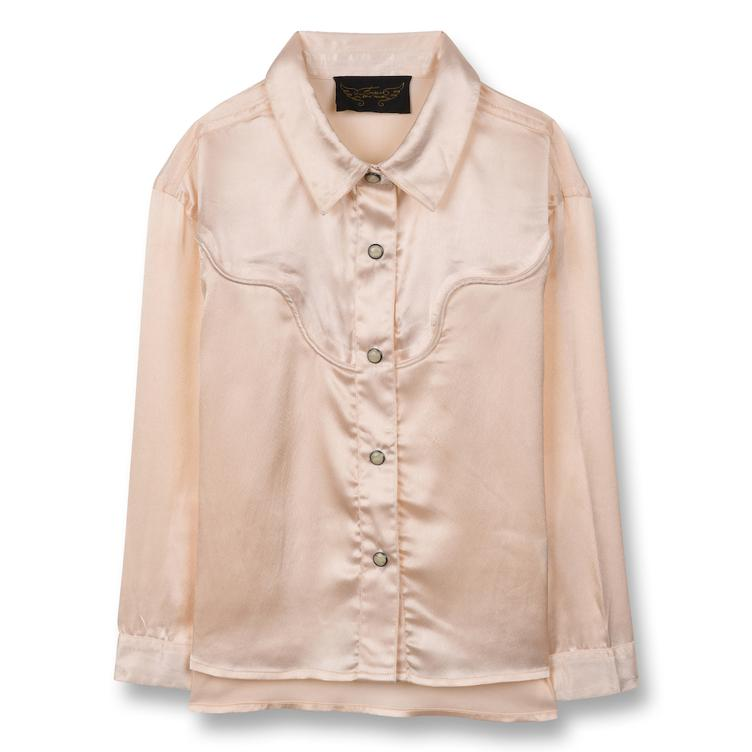 Meryl Oversize Bluse - champagne