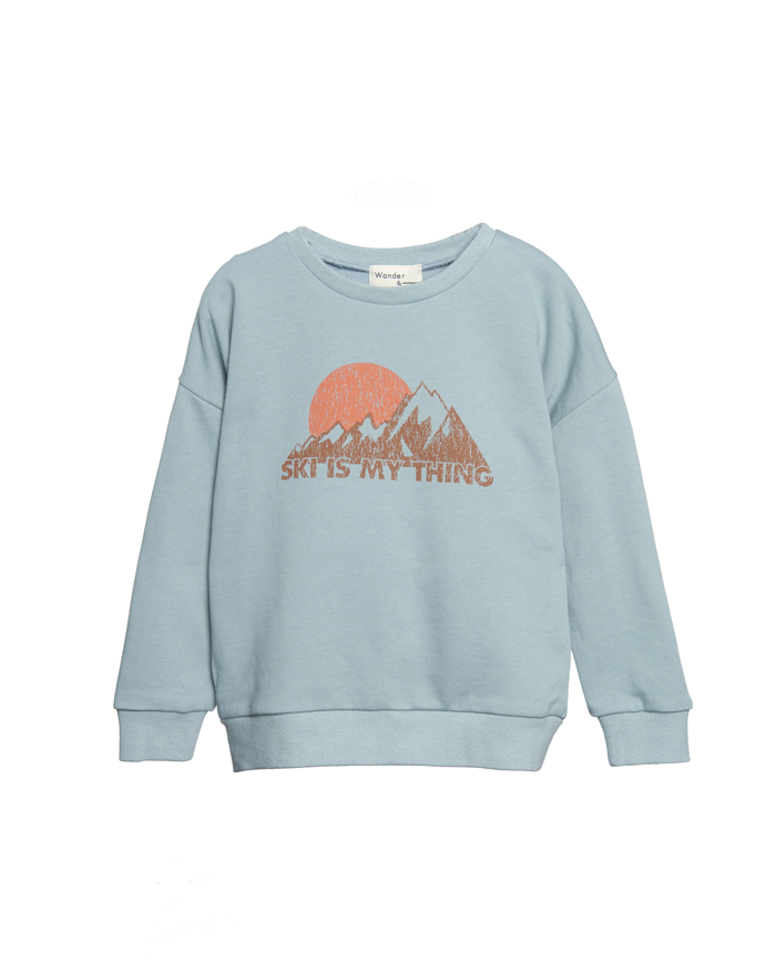Mountain Sweatshirt - seafoam