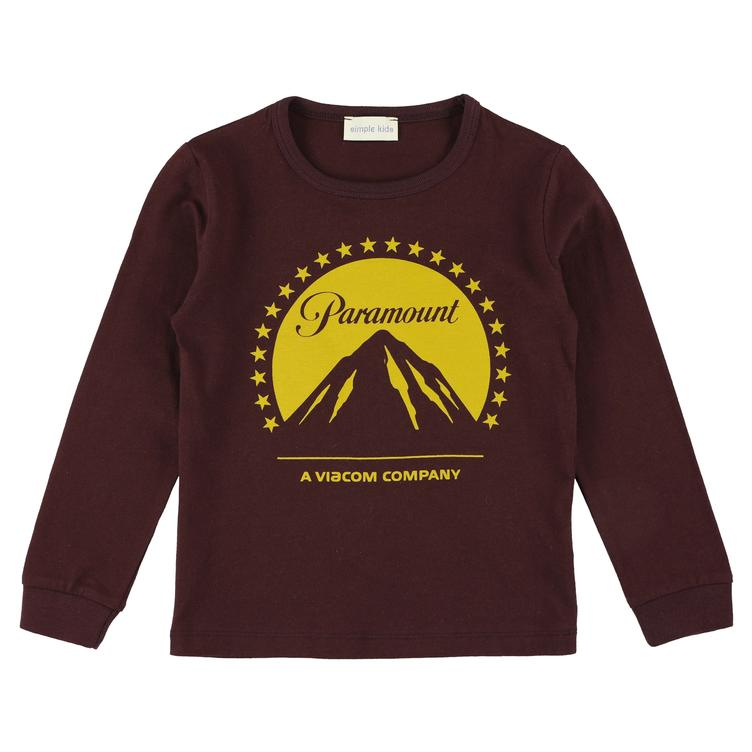 Paramount Jersey T-Shirt- plum/yellow