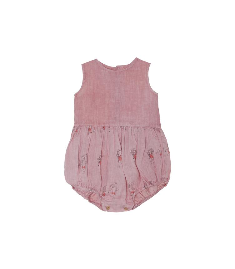 Playsuit bedruckt - Strawberry