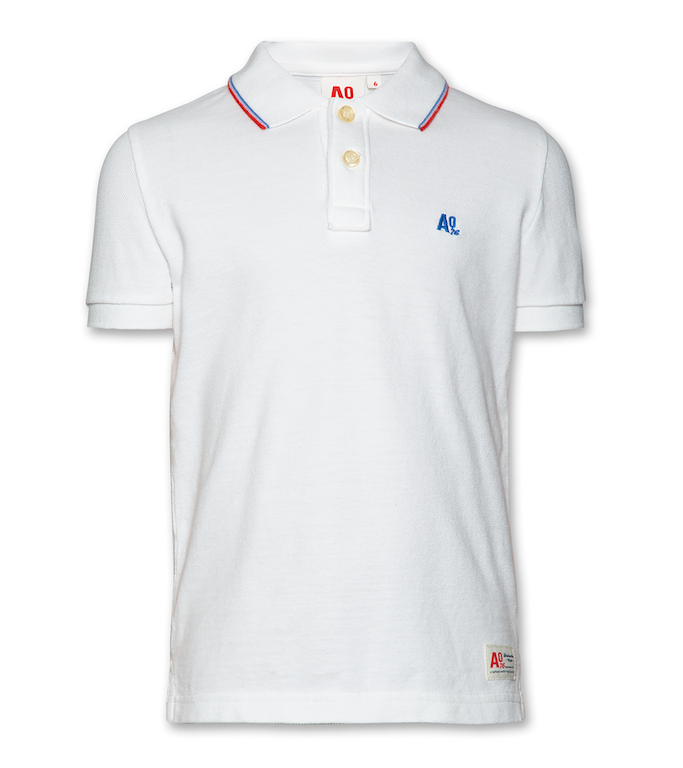Polo Pique Logo - Off-white