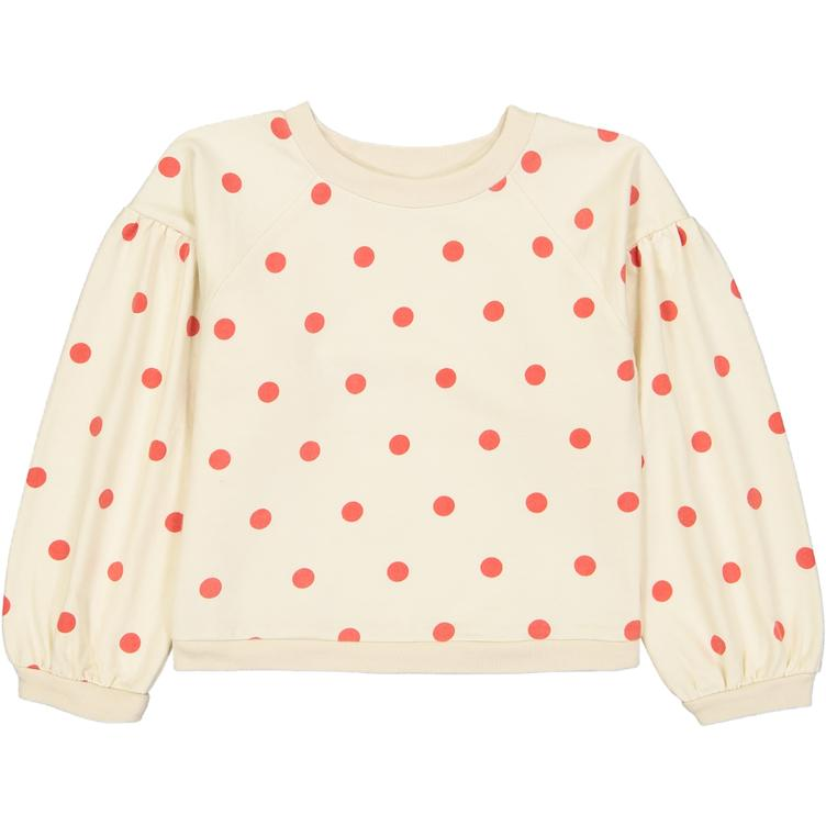 Sam Sweatshirt - Red Dots