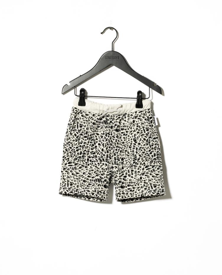 Shorts Delano - Leoprint White