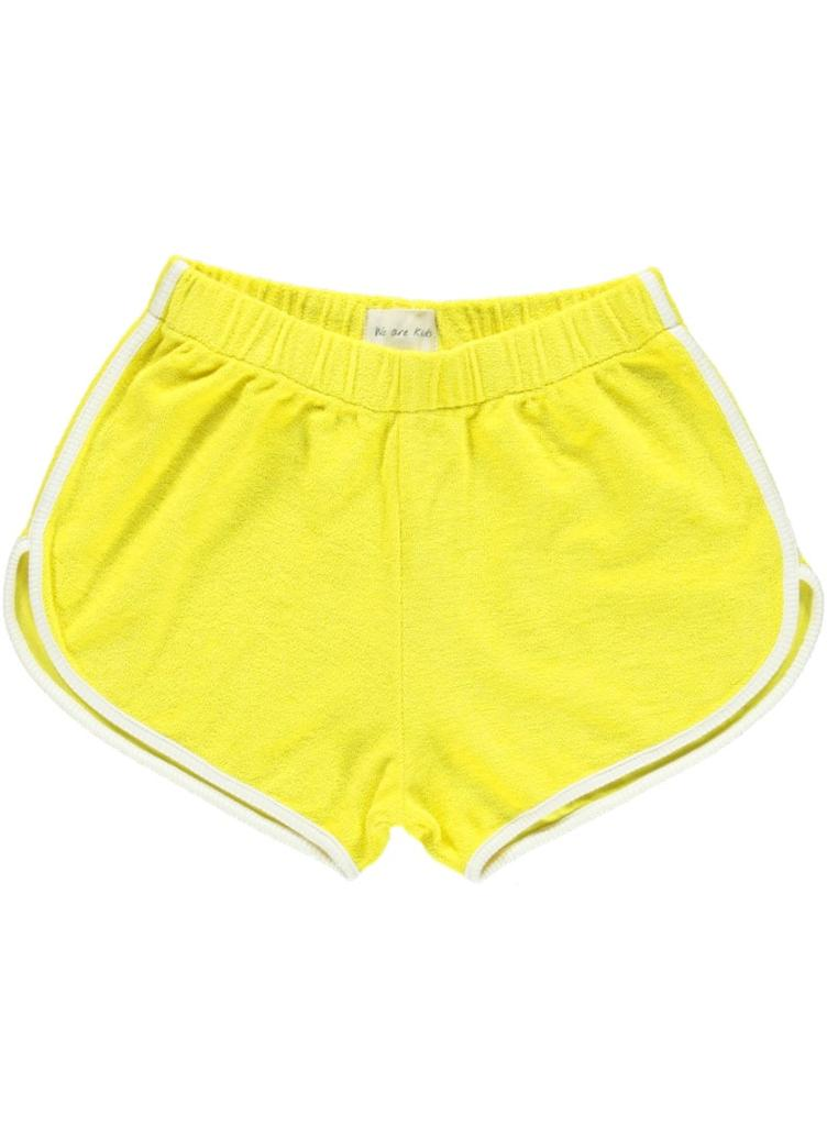 Shorts Juju in Terry - sunny yellow