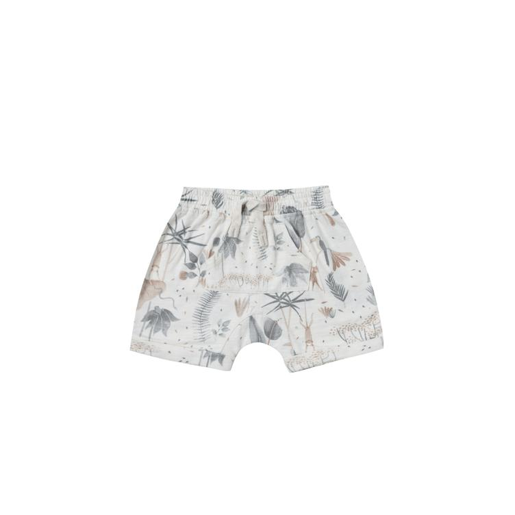 Shorts Jungle Front Pouch - Coconut