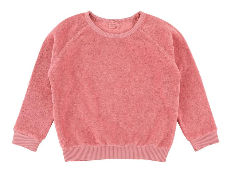 Sweater Bass Teddy - Cherry Blossom