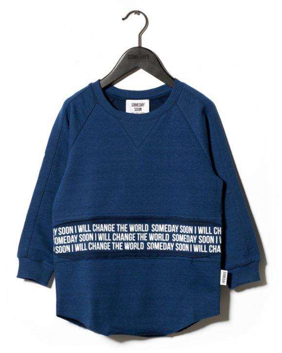 Sweater Mateo Crewneck - Blue
