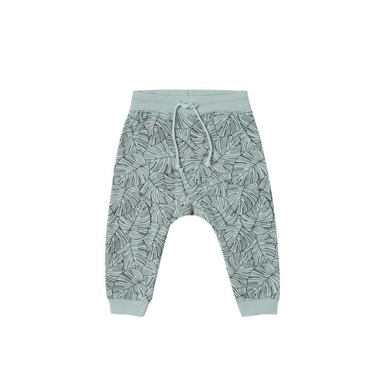 Sweatpant Monstera - Seafoam