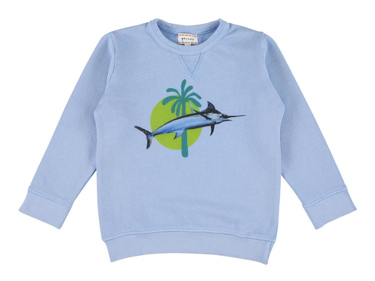 Sweatshirt Bass Swordfish - gulf