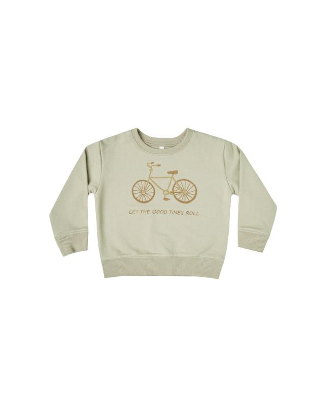 Sweatshirt Bike - sage