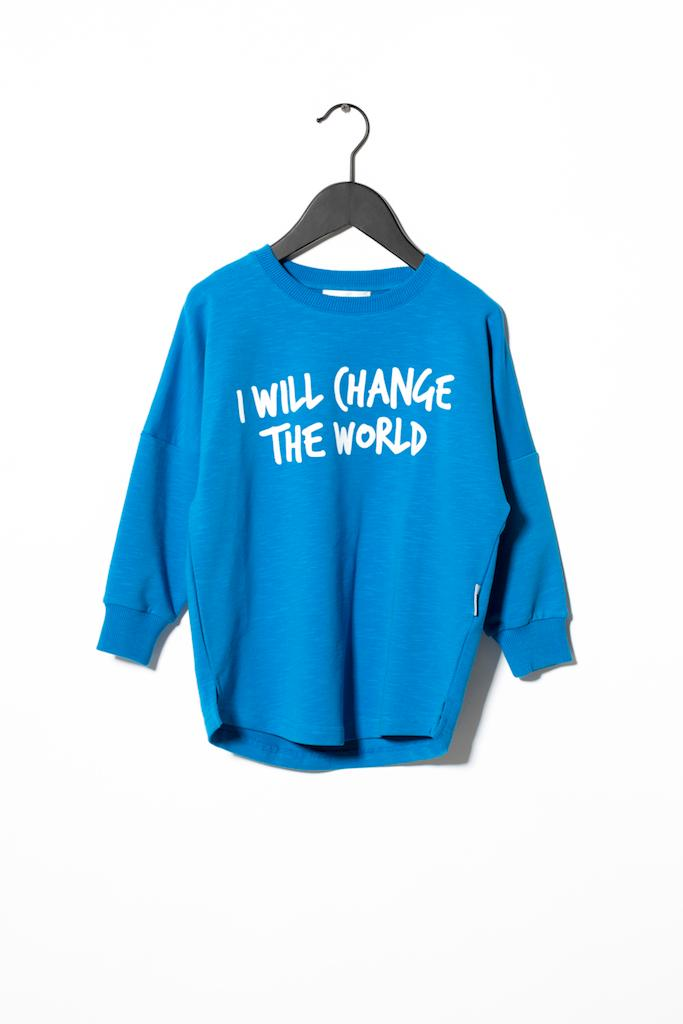 Sweatshirt Change - Blue