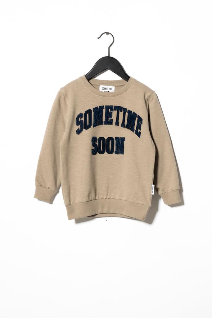 Sweatshirt College - Brown