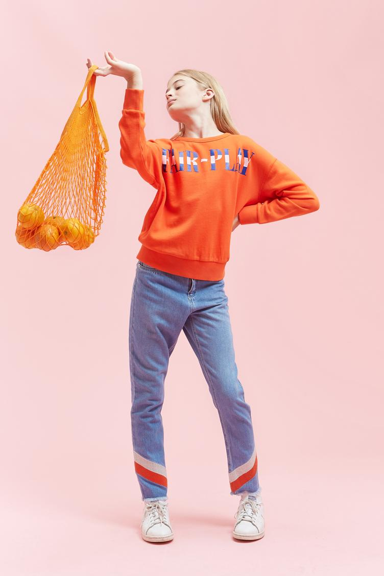 Sweatshirt Energetic Fair Play - Fanta