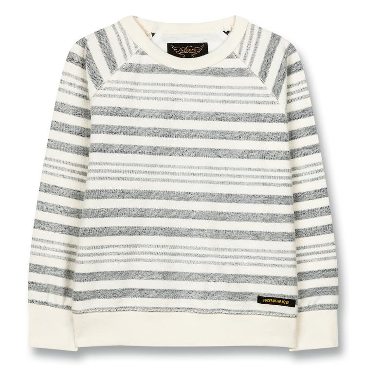 Sweatshirt Hank Kraft Blue Stripes