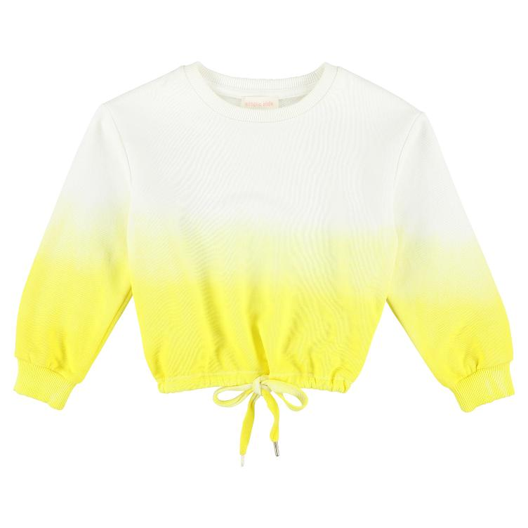Sweatshirt Paint yellow