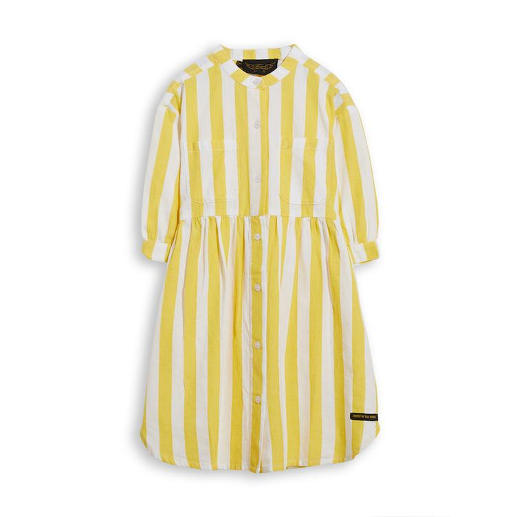 Swing Kleid - Yellow Stripes