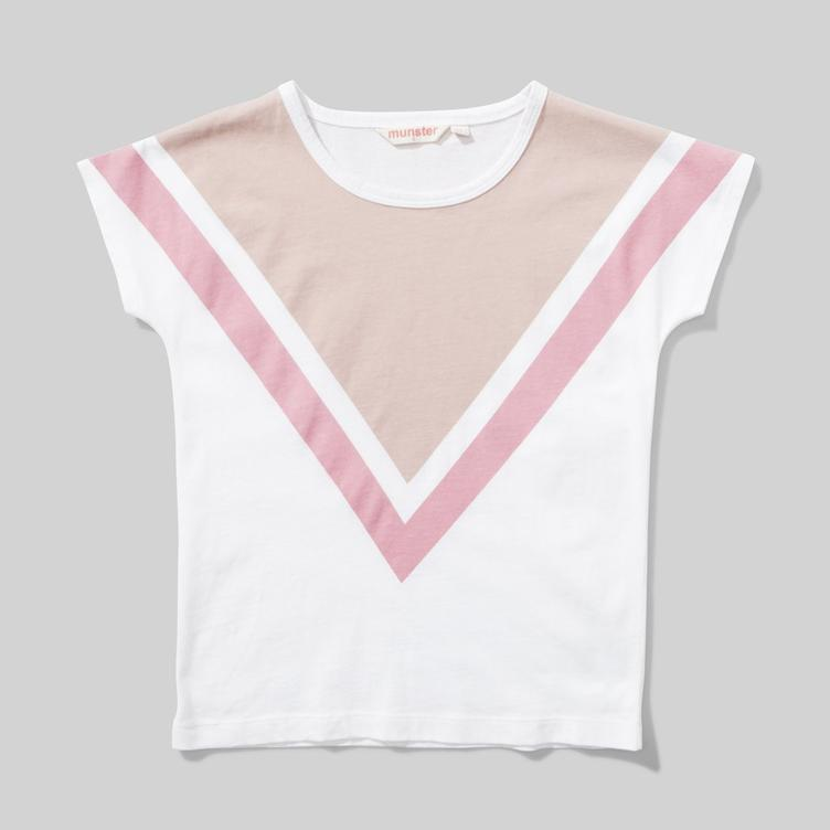 T-Shirt Big V - Cream