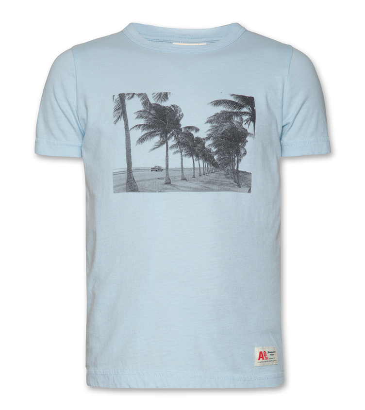 T-Shirt C-neck Seaside - Sky Blue