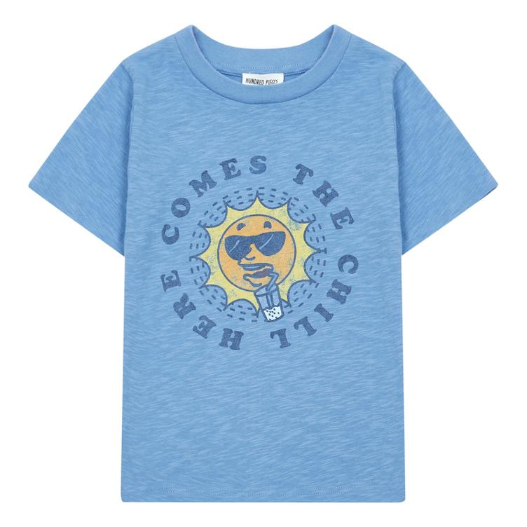T-Shirt Chill - vintage blue