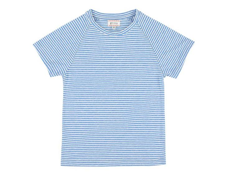 T-Shirt Harvey Stripe Bleu