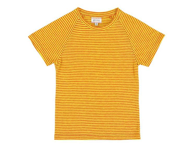 T-Shirt Harvey Stripe Yellow
