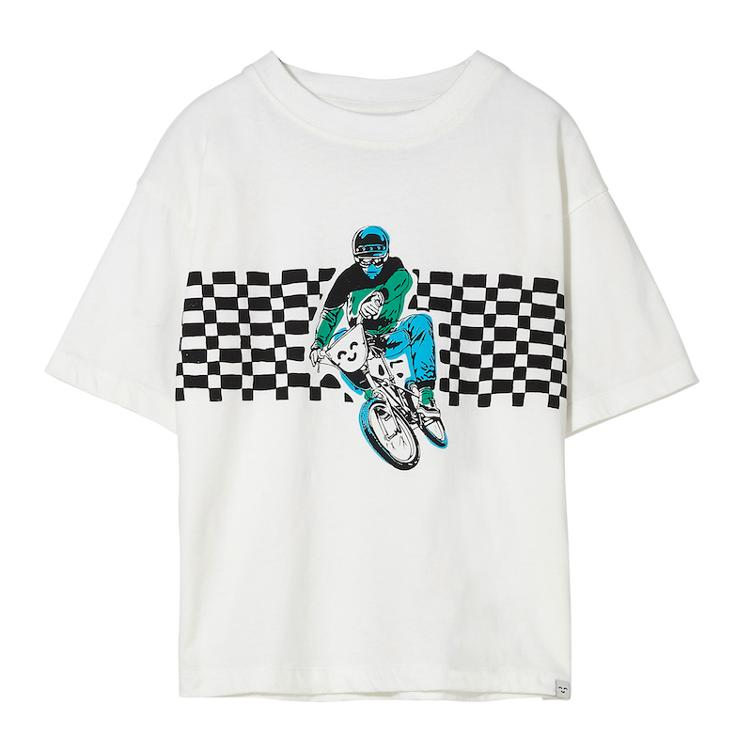 T-Shirt King BMX in Off-White
