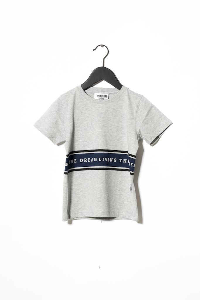 T-Shirt Living - Grey Melange
