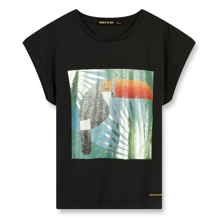 T-Shirt Marsh Ash Black Toucan