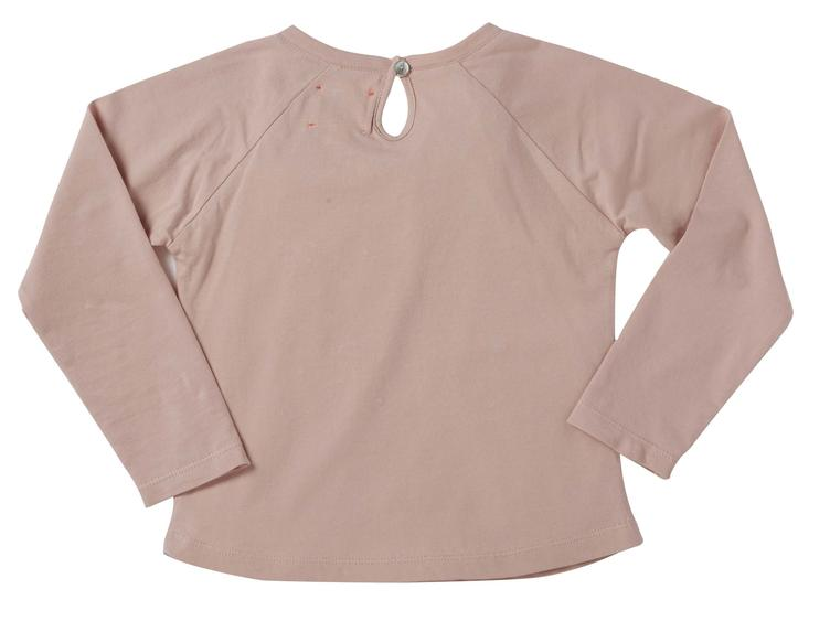 T-Shirt Merci, langärmlig, Light Pink - 0
