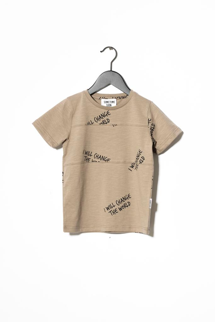 T-Shirt Milos - Brown