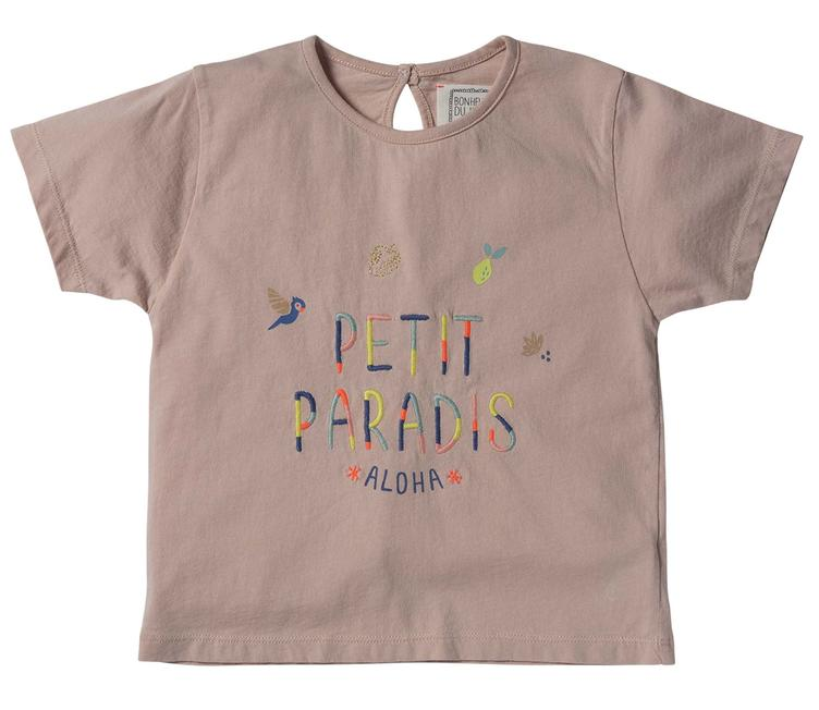T-Shirt Petit Paradis - Light Pink