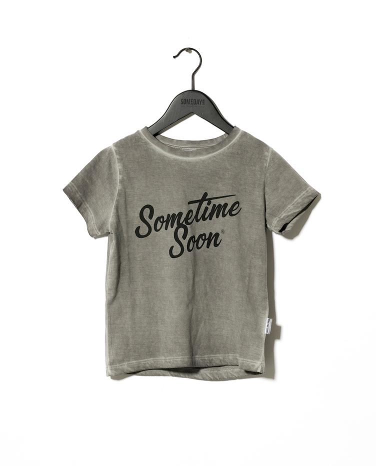 T-Shirt Sometime - Grey Melange