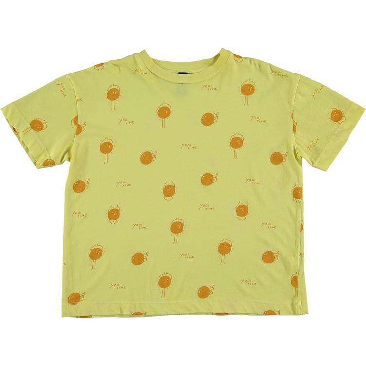 T-Shirt Yogi Sun - sunshine yellow