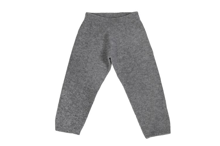 Hosen Knit Pants 005 Gray