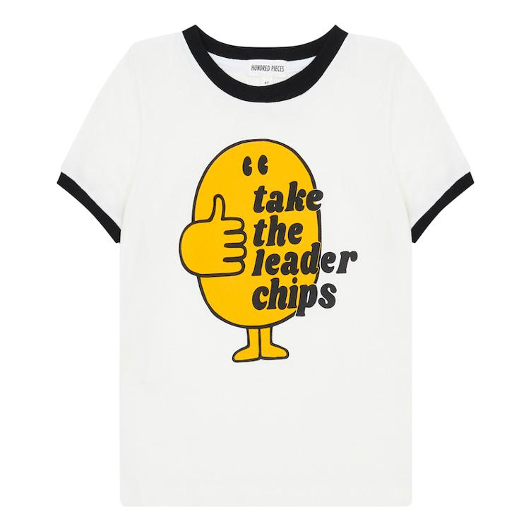 Take The Leader Chips T-Shirt - Off-white