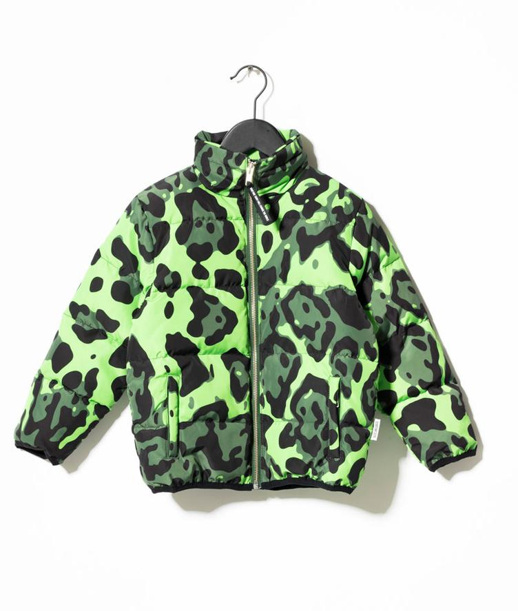 Thor Jacket - bright green AOP