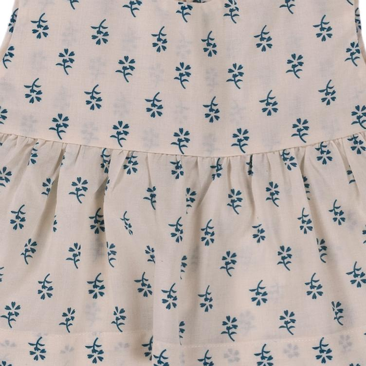 Top Romie - Blue Flower Print - 1