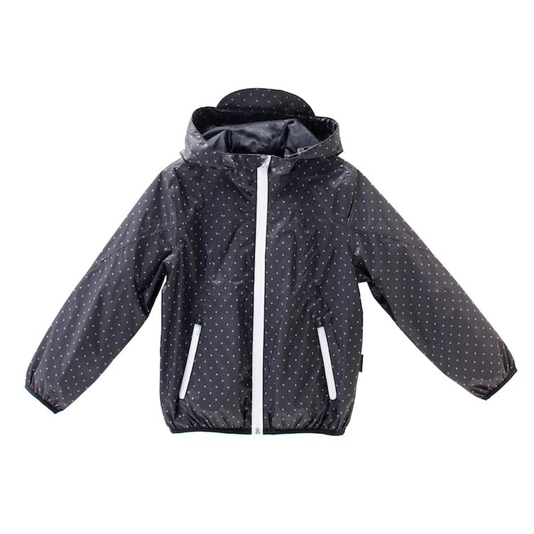 Unisex Jacket, packable - reflektierende Tupfen