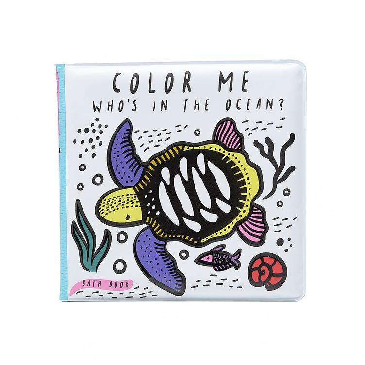 Bath Book - Colour Me Ocean