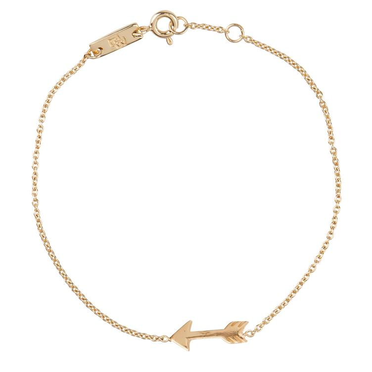 You give me direction - Armband Mother - gold